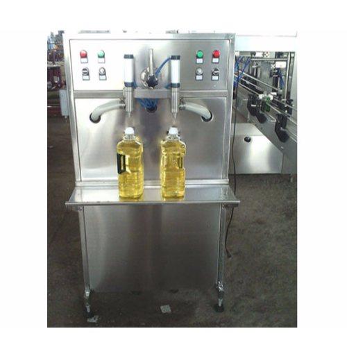 恒鲁机械 双头食用油灌装生产线品牌