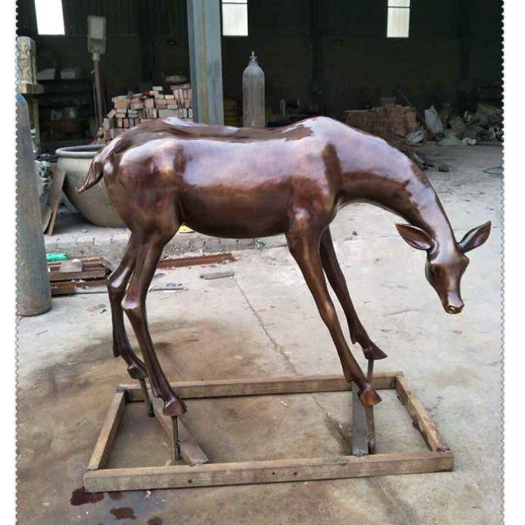 直销纯铜群鹿景观生产厂 定做纯铜群鹿景观制造厂 妙缘雕塑