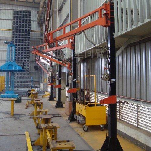 吊装设备制造焊接吸尘送丝机悬臂架 焊机升降旋转臂旭泰机械