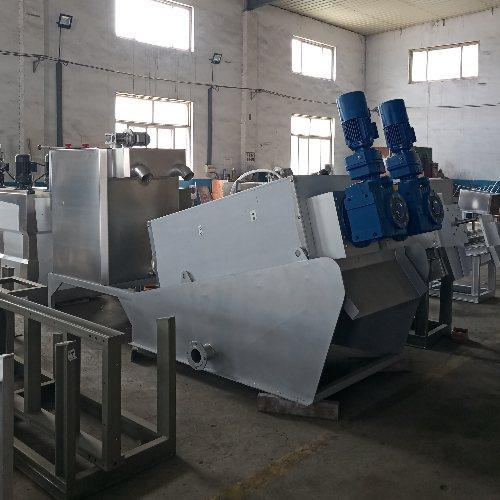 养殖叠螺机生产 生产叠螺机 誉达环保 叠螺机原理