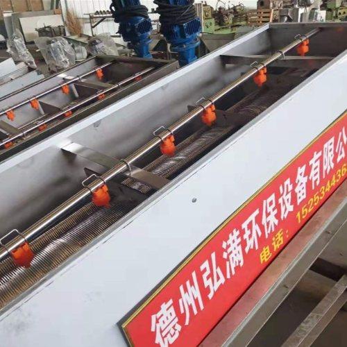 食品叠螺污泥脱水机选型 弘满环保 132叠螺污泥脱水机