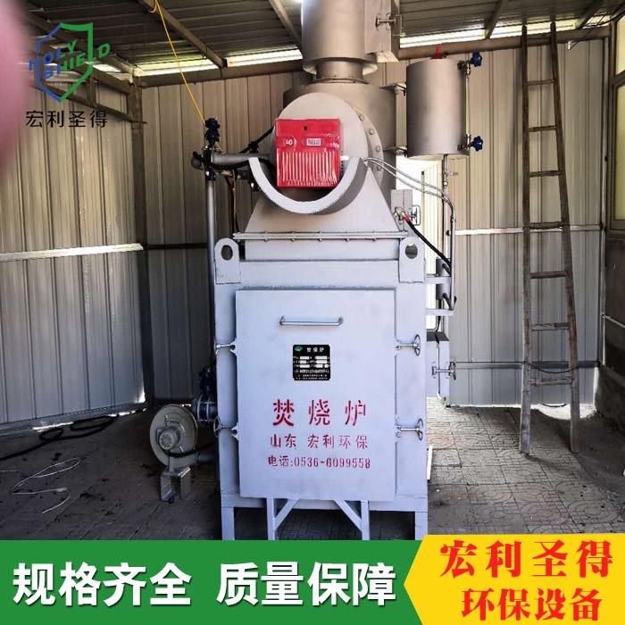 宠物垃圾焚烧设备个性化定制能力强 卧式垃圾焚烧设备 宏利圣得