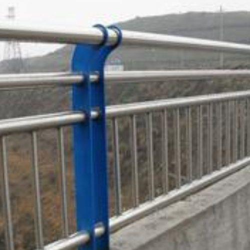栏人行道护栏 不锈钢碳素复合管人行道护栏厂家 浩泽