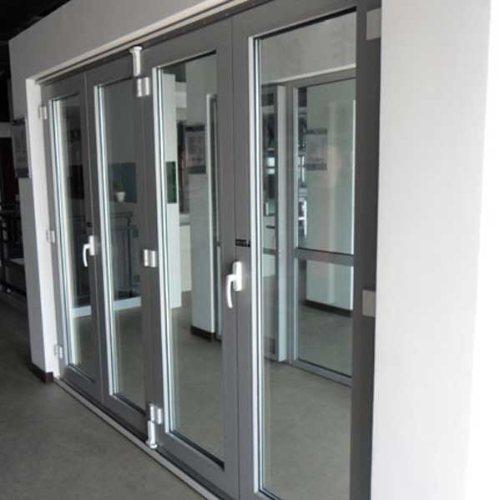 150系列断桥铝门窗定制 三朵云门窗 断桥铝门窗加工