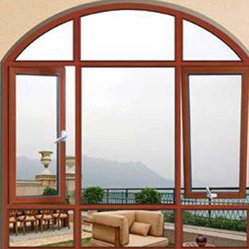 三朵云门窗 上悬式断桥铝门窗安装