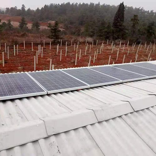 500W太阳能家用发电系统 民用太阳能家用发电系统定制 玉盛