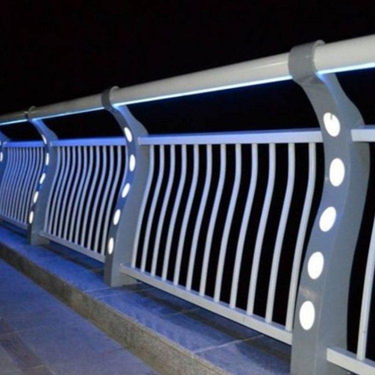 桥梁灯光栏杆 LED灯光栏杆 扶手灯光栏杆加工 航拓