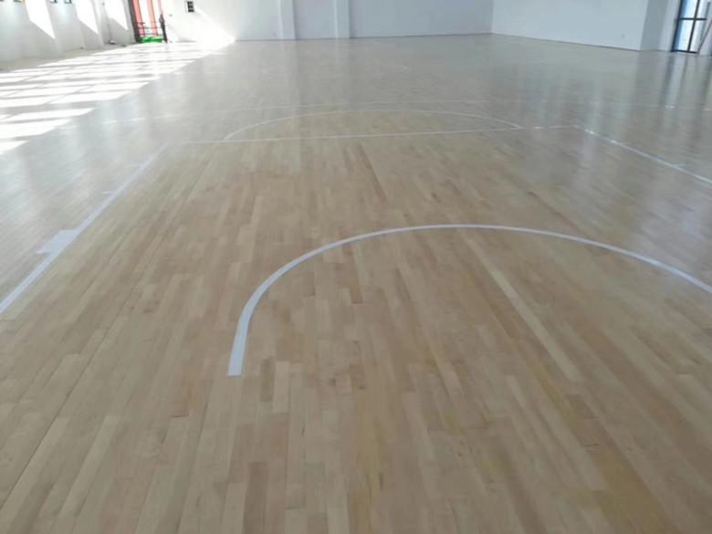 篮球硬木运动木地板 硬木体育场木地板 防虫防蛀 绿色环保