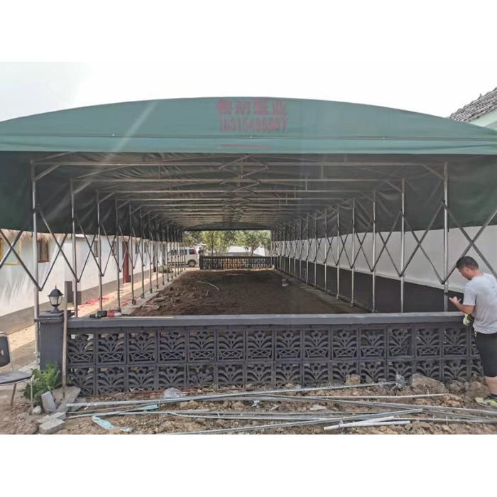 移动推拉篷定制 伸缩推拉篷制造 鲁耐 推拉篷