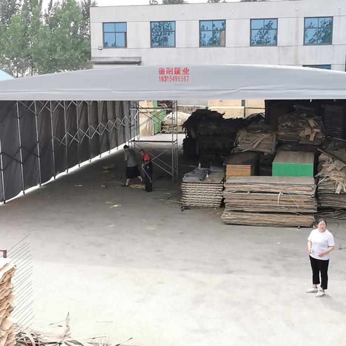 伸缩推拉篷定制 大型推拉篷制造 伸缩推拉篷批发 鲁耐