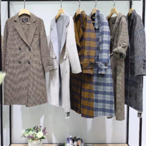 广州2019年品牌女装 品牌女装拆扣 品牌大码棉服