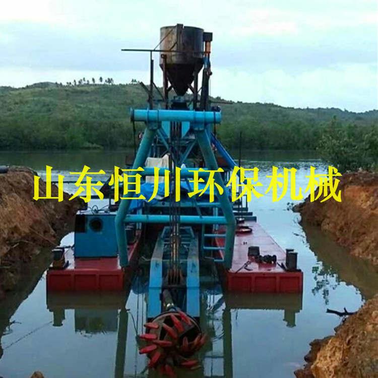 大型绞吸式抽沙船恒川定制 绞吸式抽沙船尺寸 恒川