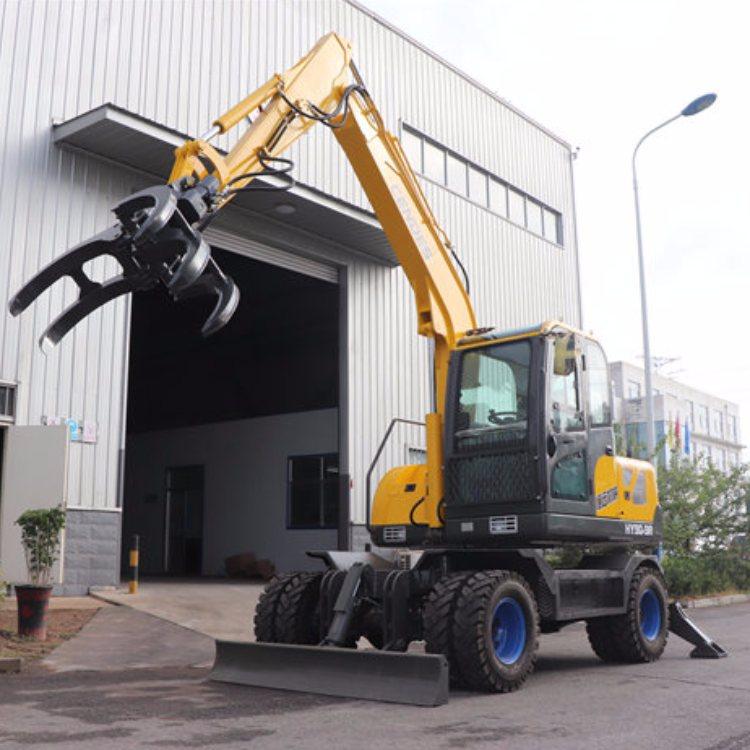 农用小型挖掘机 自卸式小型挖掘机报价 中崛 小型小型挖掘机厂商