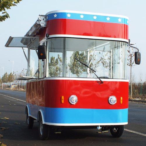 户外快餐车房车 电动四轮房车 快餐房车直销 德州聚冠餐车