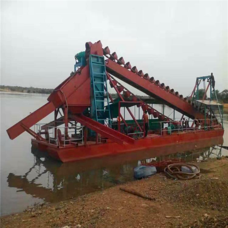 河道鼓动溜槽型号 HC/恒川 小型鼓动溜槽作用