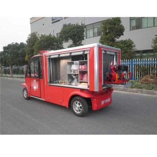 2座1吨水箱电动消防车报价 景区2座1吨水箱电动消防车定制 德士隆