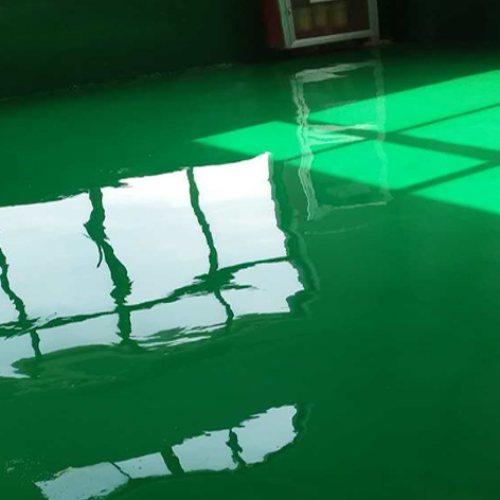 车库环氧树脂地坪施工工程 停车场环氧树脂地坪施工工程 增品地坪