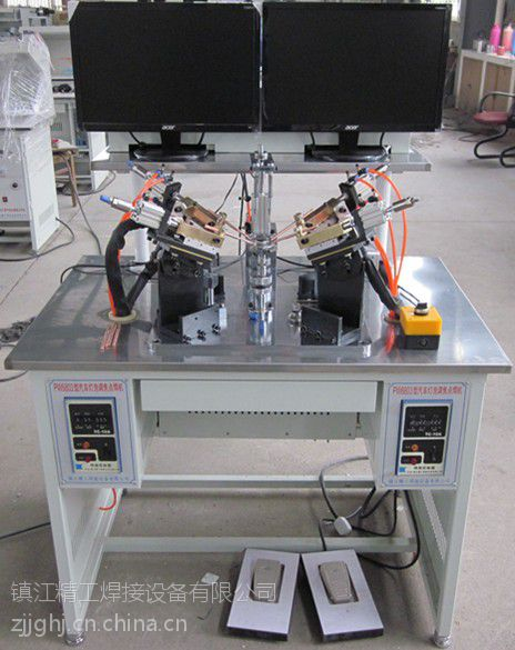 供应汽车灯泡调焦四点焊机