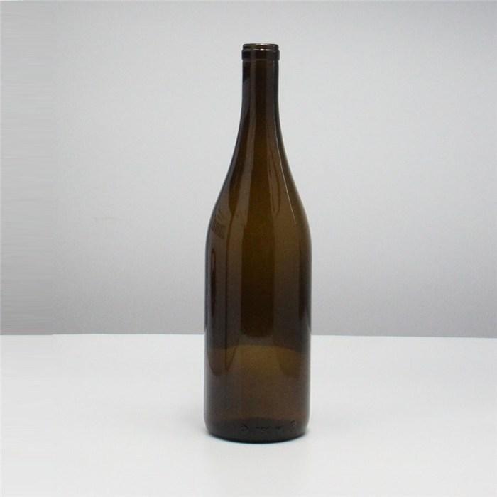 红酒瓶定制 金诚 750ML红酒瓶定制 33公分高度红酒瓶批发