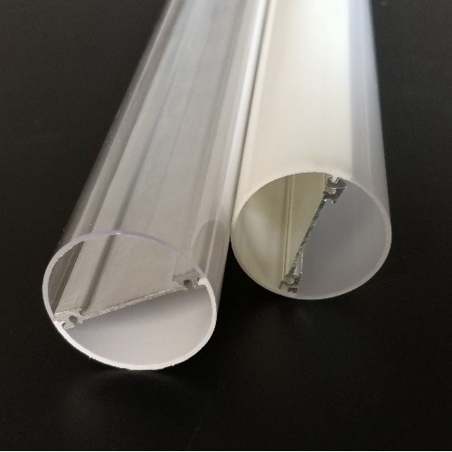 防水灯管外壳 明眸灯饰配件 双面发光防水灯管供应商