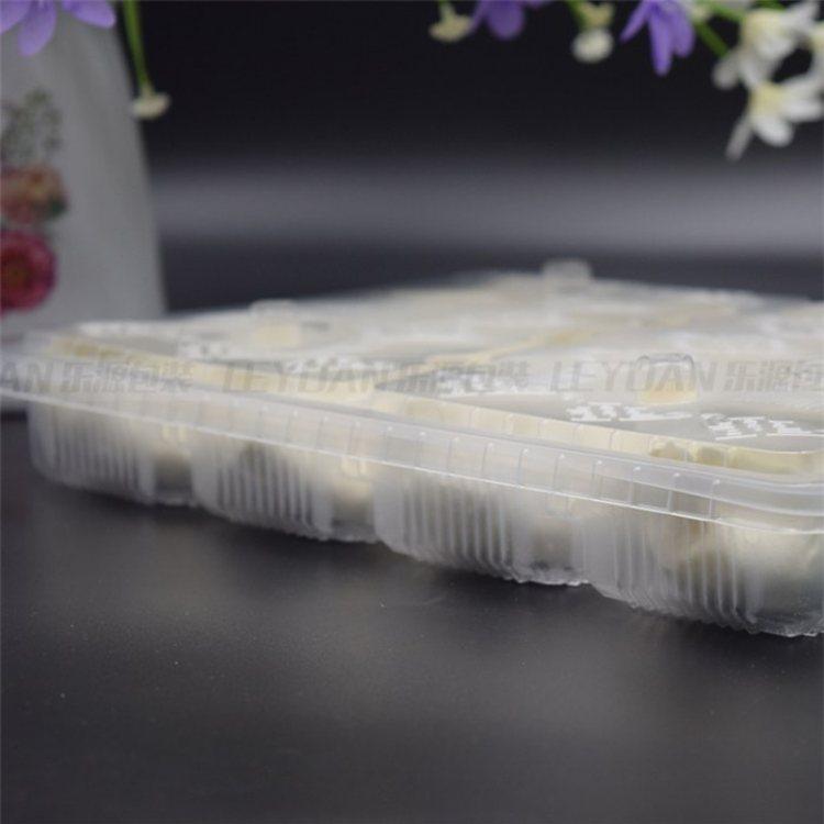 透明饺子保鲜盒订做 乐源 20格饺子保鲜盒订做