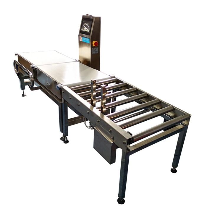 永谐检测设备 高精度重量分拣机厂 全自动重量分拣机厂