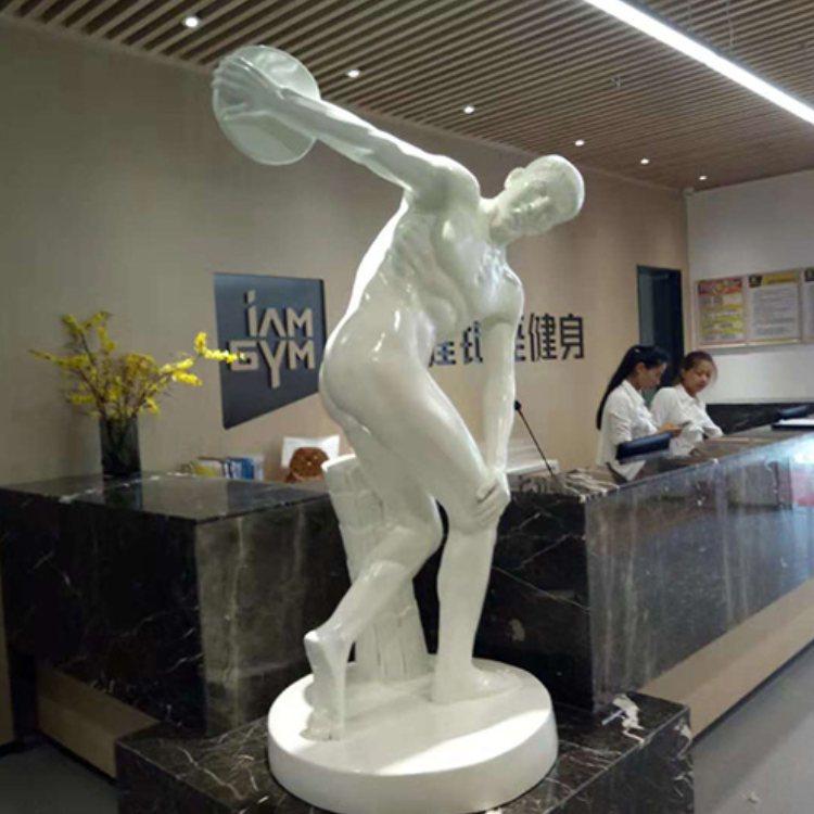玻璃钢雕塑制作公司 瑞鑫雕塑 人物玻璃钢雕塑定做厂家