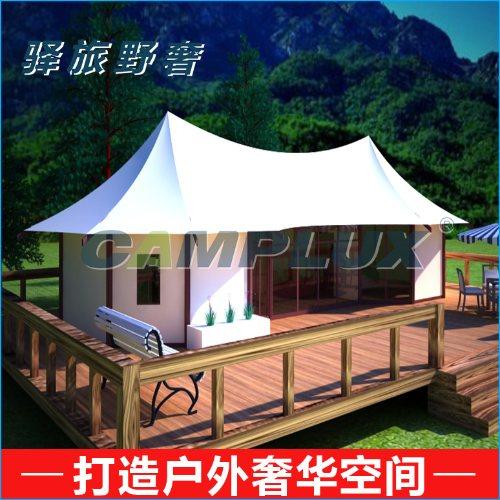卡帕帐篷 多边形组合式房车帐篷酒店多少钱一顶