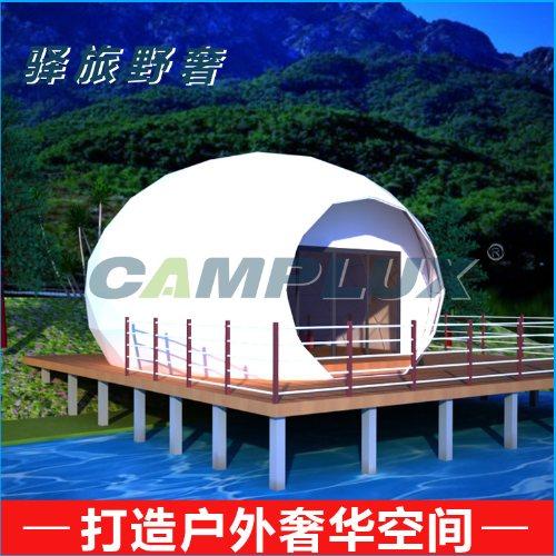 卡帕帐篷 多边形组合式景区住宿帐篷酒店现货供应