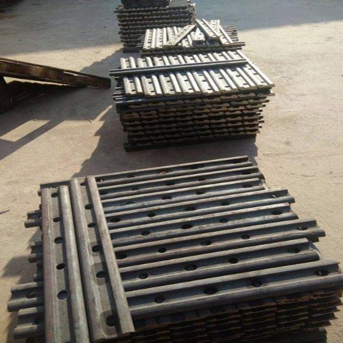 轨道夹板 接头轨道夹板生产厂家 岩石紧固件 矿用轨道夹板