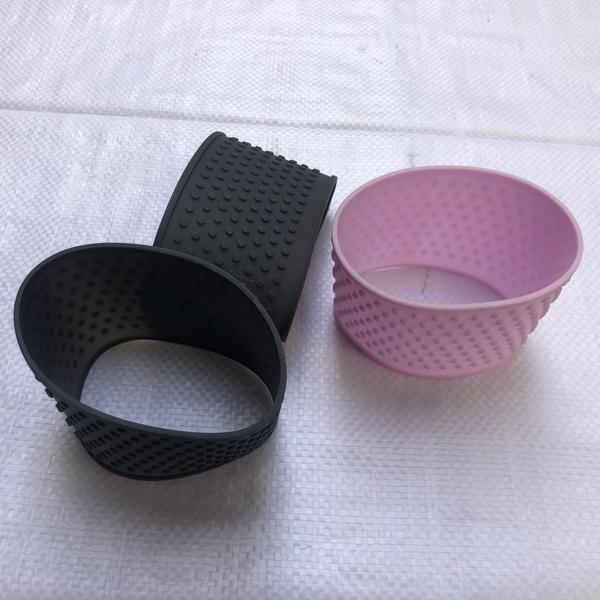 创意硅胶杯套价格 硅胶杯套 双收橡塑 隔热硅胶杯套