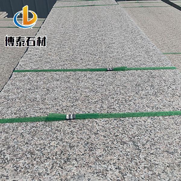 3公分火烧板专卖 博泰石材 广场铺地火烧板规格尺寸