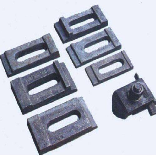 焊接轨道压板批发商 国标轨道压板 滏金金属制品
