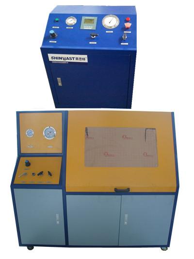 空调滤芯软管水压试验台产品介绍 耐压测试机 产量大 耗能低