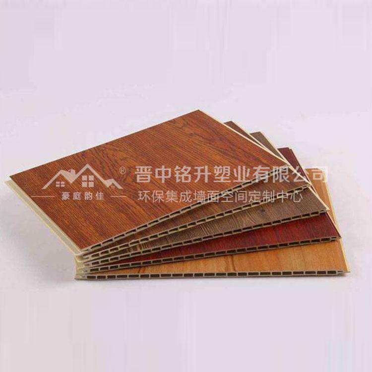 网吧竹木纤维集成墙板批发 豪庭韵佳集成墙板