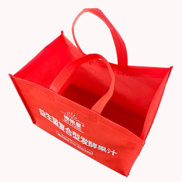 供应无纺布覆膜手提袋订做 绿恒 定做无纺布覆膜手提袋批发