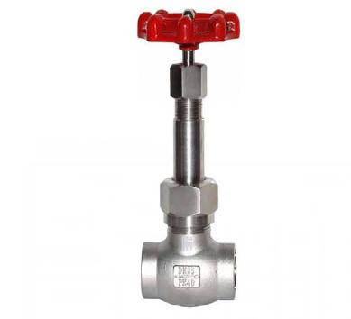 进口不锈钢长杆焊接低温截止阀