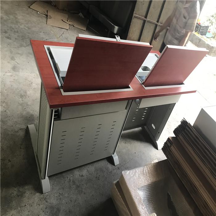 学校翻转电脑桌尺寸 专业学校翻转电脑桌 志欧