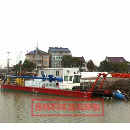 鼎科机械 港口吸污船租赁 河道吸污船疏浚 液压吸污船出售