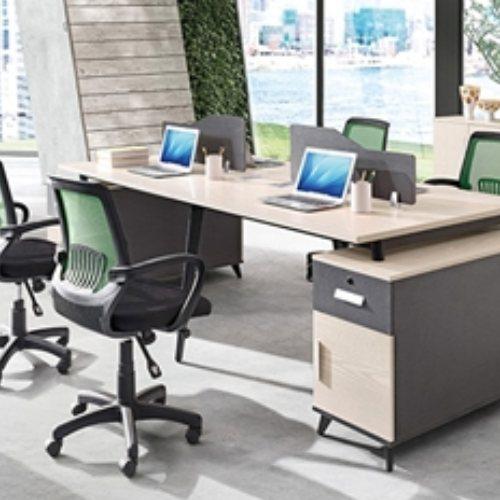 配套屏风员工桌定制 致美 高端屏风员工桌系列