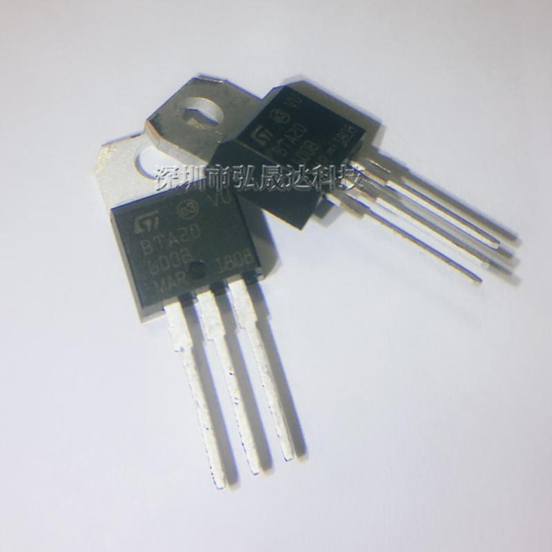 全新 BTA20-600B BTA20 TO-220 双三端双向可控硅开关20A600V