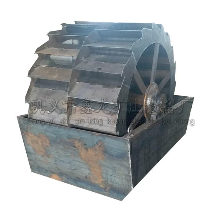 鑫龙小型螺旋洗石机流水线螺旋洗石机简易 洗石设备厂家