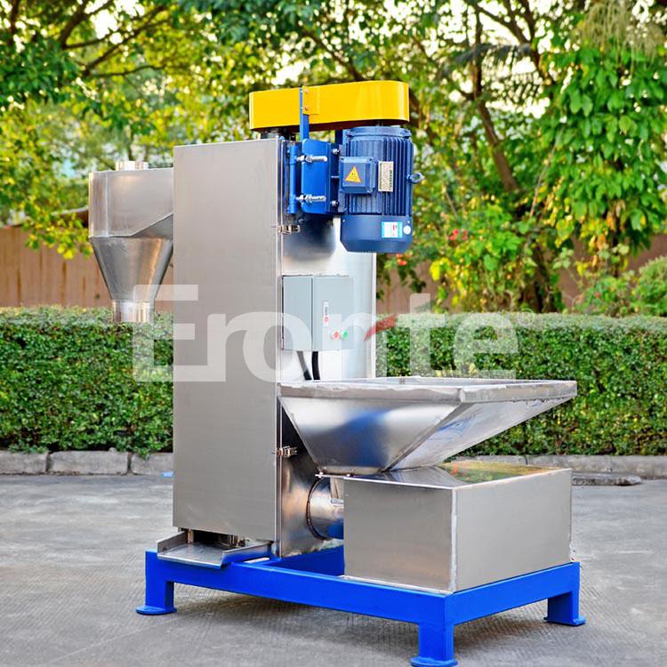 亿朗特7.5kw废旧塑料清洗脱水机 不锈钢自动立式脱水机 投料方便