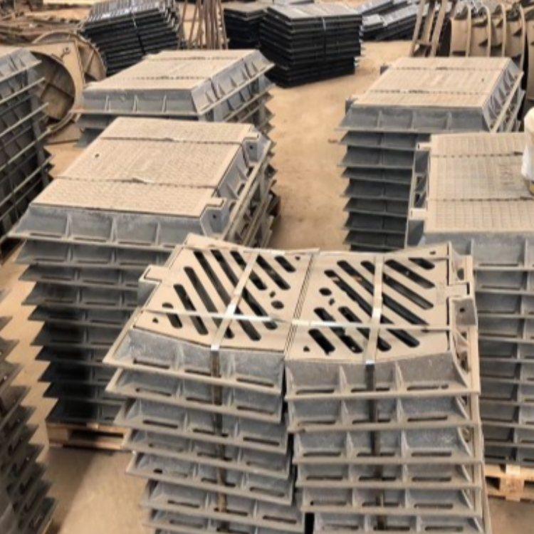 重型方形铸铁沟盖板定做 方形铸铁沟盖板现货 运通达