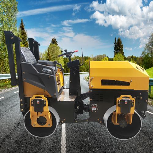 双钢轮振动式压路机品牌机械 3吨振动式压路机采购优选 通华