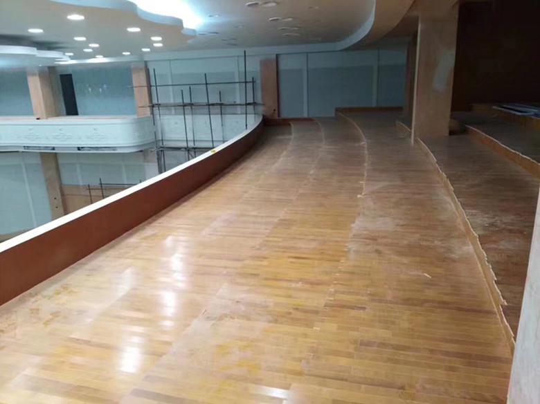 甘孜手球馆硬木运动木地板 硬木体育场木地板 可根据客户要求定制