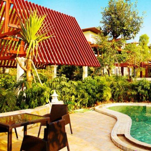 新中式温泉度假村设计 室外温泉度假村策划 御水