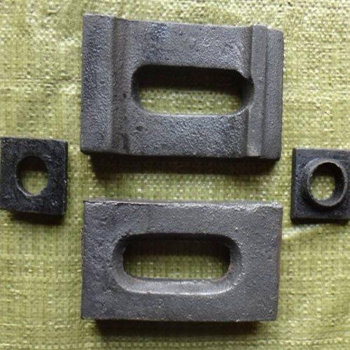 圆孔轨道专用压板量大优惠 山桥工务器材 g325轨道专用压板加工厂