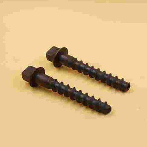 10.9级螺纹道钉现货批发 发黑螺纹道钉 山桥工务器材