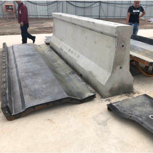 防撞墙钢模具 防撞墙钢模板 专业定制